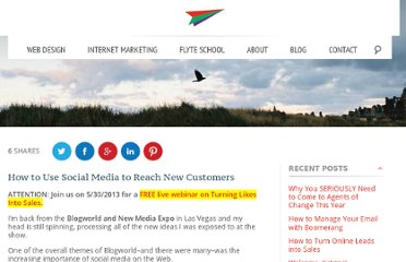http://www.flyte.biz/resources/newsletters/07/11-social-media.php
