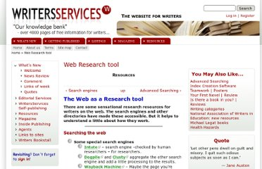 http://www.writersservices.com/www/q_research.htm