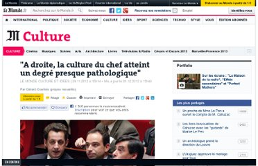 http://www.lemonde.fr/culture/article/2012/11/29/a-droite-la-culture-du-chef-atteint-un-degre-presque-pathologique_1798025_3246.html