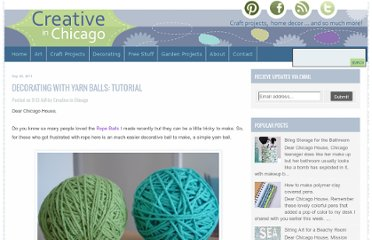 http://www.creativeinchicago.com/2011/09/decorating-with-yarn-balls-tutorial.html