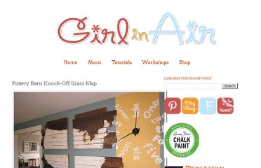 http://www.girlinair.com/2012/08/pottery-barn-knock-off-giant-map.html