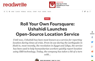 http://readwrite.com/2011/03/10/roll_your_own_foursquare_ushahidi_launches_open-so