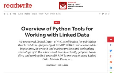 http://readwrite.com/2011/03/19/overview-of-python-tools-for-w