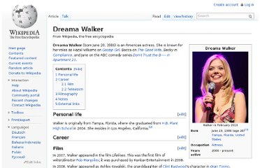 http://en.wikipedia.org/wiki/Dreama_Walker