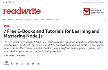 http://readwrite.com/2011/04/02/6-free-e-books-on-nodejs