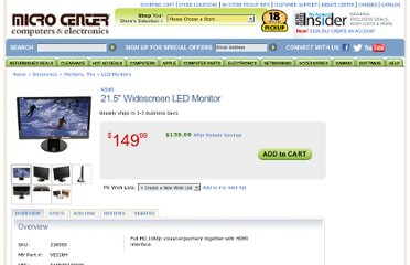 http://www.microcenter.com/product/355062/215_Widescreen_LED_Monitor