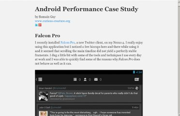 http://www.curious-creature.org/docs/android-performance-case-study-1.html