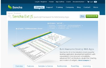 http://www.sencha.com/products/extjs