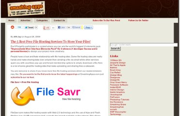 http://www.smashingapps.com/2008/08/28/5-best-free-file-hosting-services-to-store-your-files.html
