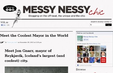 http://www.messynessychic.com/2012/11/28/meet-the-coolest-mayor-in-the-world/
