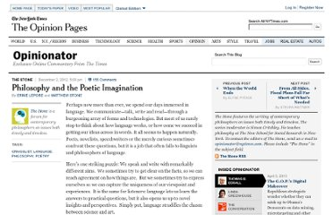 http://opinionator.blogs.nytimes.com/2012/12/02/philosophy-and-the-poetic-imagination/