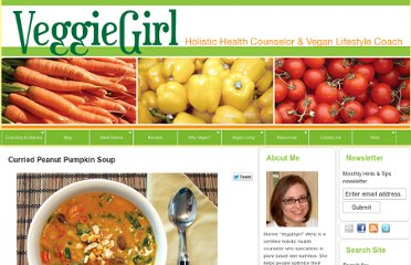 http://www.veggiegirl.com/2012/11/09/curried-peanut-pumpkin-soup/