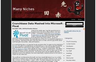 http://www.manyniches.com/developers/crunchbase-data-mashed-into-microsoft-pivot-2/