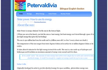 http://www.petervaldivia.com/technology/energy/solar-power.php