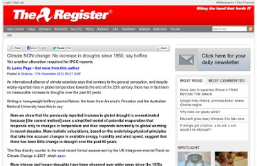 http://www.theregister.co.uk/2012/11/17/no_more_droughts_than_in_1950/
