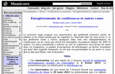 http://www.manicore.com/documentation/articles/conferences.html