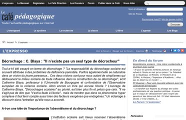 http://www.cafepedagogique.net/lexpresso/Pages/2012/12/05122012Article634902919745327200.aspx