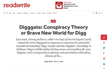 http://readwrite.com/2009/04/12/digggate_conspiracy_theory_or_brave_new_world_for