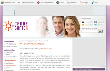 http://www.cadredesante.com/spip/profession/management/La-communication.html