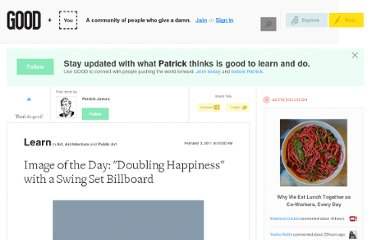 http://www.good.is/posts/image-of-the-day-doubling-happiness-with-a-swing-set-billboard
