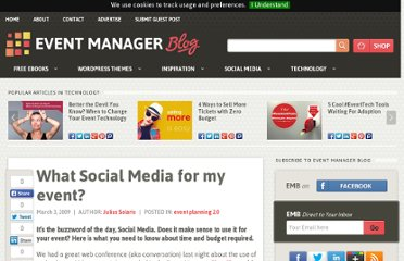 http://www.eventmanagerblog.com/what-social-media-for-my-event
