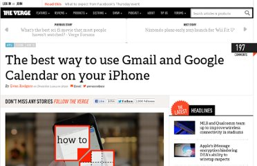 http://www.theverge.com/2012/12/5/3732364/best-way-gmail-google-calendar-iphone-how-to
