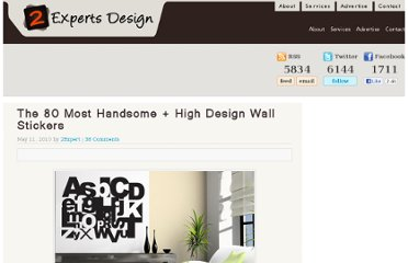 http://www.2expertsdesign.com/inspiration/the-most-handsome-80-high-design-wall-stickers