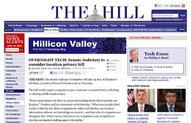 http://thehill.com/blogs/hillicon-valley/technology/271325-overnight-tech-senate-judiciary-to-consider-location-privacy-bill