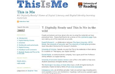 http://blogs.reading.ac.uk/this-is-me/7-digitally-ready-and-this-is-me-in-the-wild/