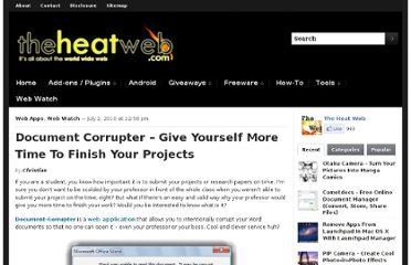 http://theheatweb.com/document-corrupter-give-time-finish-projects/
