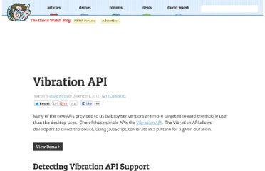http://davidwalsh.name/vibration-api