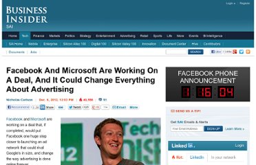 http://www.businessinsider.com/facebook-and-microsoft-are-working-on-a-deal-and-it-could-change-everything-about-advertising-2012-12