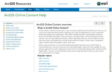 http://resources.arcgis.com/en/help/arcgisonline-content/index.html#//011q0000000m000000