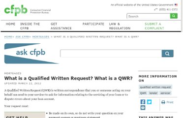 http://www.consumerfinance.gov/askcfpb/207/what-is-a-qualified-written-request-what-is-a-qwr.html