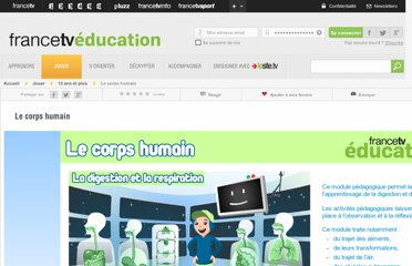 http://education.francetv.fr/activite-interactive/le-corps-humain-o24139