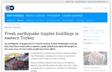 http://www.dw.de/fresh-earthquake-topples-buildings-in-eastern-turkey/a-15522288-1