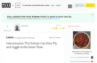 http://www.good.is/posts/intermission-the-robots-can-now-fly-and-juggle-at-the-same-time