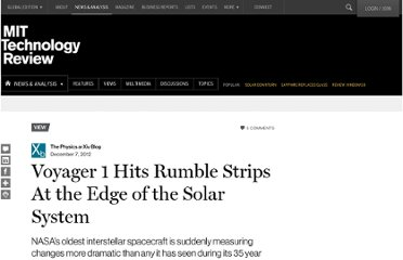 http://www.technologyreview.com/view/508496/voyager-1-hits-rumble-strips-at-the-edge-of-the-solar-system/
