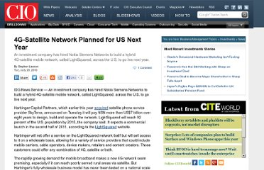 http://www.cio.com/article/600007/4G_Satellite_Network_Planned_for_US_Next_Year