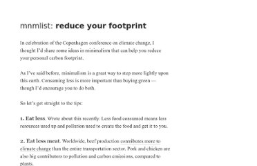 http://mnmlist.com/reduce-footprint/