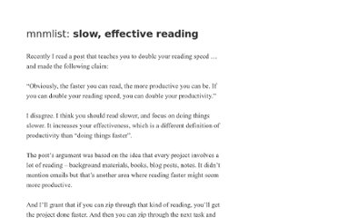 http://mnmlist.com/slow-reading/