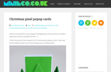 http://www.minieco.co.uk/christmas-pixel-popup-cards/