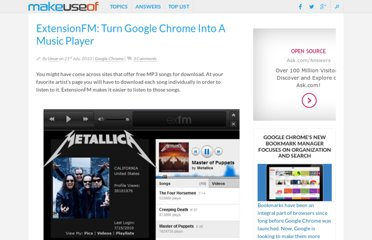 http://www.makeuseof.com/dir/extensionfm-turn-google-chrome-music-player/