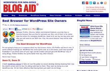 http://www.blogaid.net/best-browser-for-wordpress-site-owners