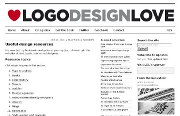 http://www.logodesignlove.com/best-logo-design-resources