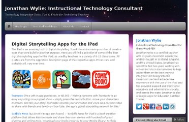 http://jonathanwylie.com/digital-storytelling-apps-for-the-ipad/
