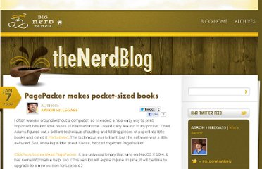 http://blog.bignerdranch.com/23-pagepacker-makes-pocket-sized-books/