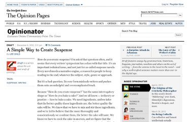 http://opinionator.blogs.nytimes.com/2012/12/08/a-simple-way-to-create-suspense/