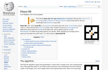 http://en.wikipedia.org/wiki/Flood_fill