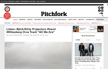 http://pitchfork.com/news/39321-listen-bjorkdirty-projectors-mount-wittenberg-orca-track-all-we-are/